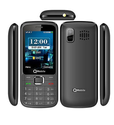 QMobile Feature Phone X4 – 2.4-INCH – Dual sim – 3000mAh Battery