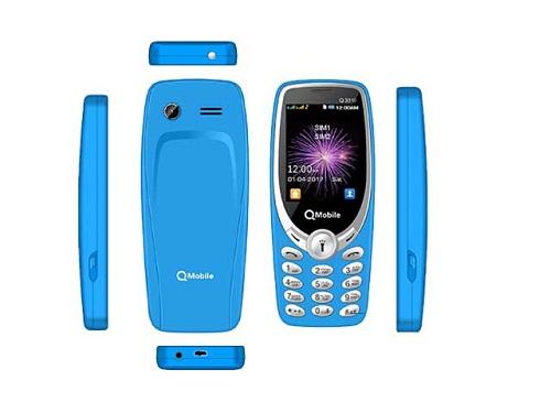 QMobile Feature Phone 3310 Mini – 1.8 Display – 1800 mAH Battery
