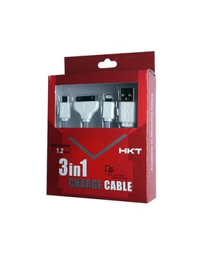 3 in 1 Data Cable - 1.2 Met ..