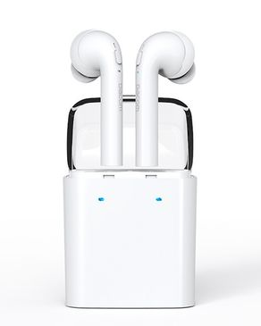 Dacom Double Mini True Wireless Bluetooth Headset Twins Airpods With Charge Station White Price In Pakistan View Latest Collection Of Earphones And Headsets