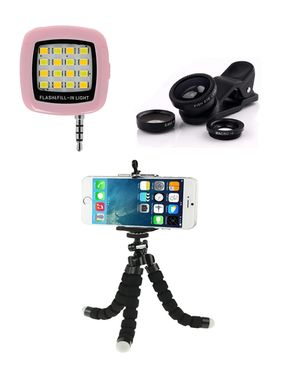 Pack of 3 - Flexible Tripod ..