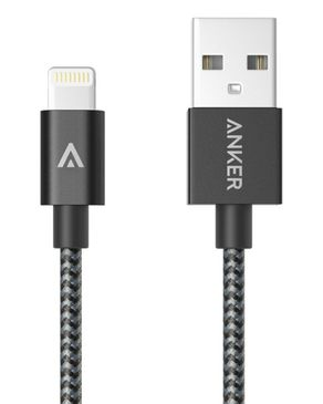 Anker Nylon-Braided USB To  ..
