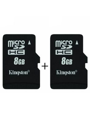 Pack of 2 - 8GB Memory Card