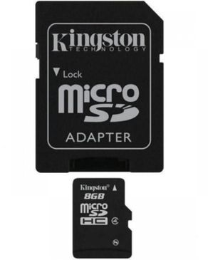 8GB Micro SD Card - Black