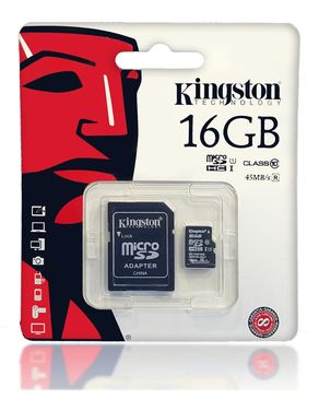 Memory Card - 16GB - Black
