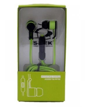 Earphones - Black & Green