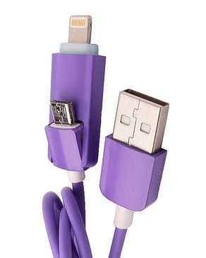 USB Data Cable - Purple