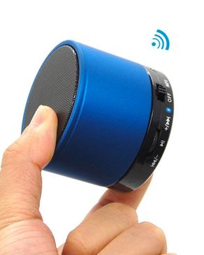 Wireless Mini Speaker - Blue