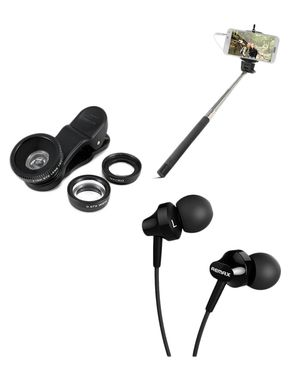 Pack of 3 - Earphone, Wired ..