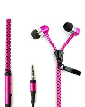 Metallic Zipper Handsfree W ..