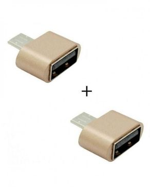 Pack of 2 - Micro USB OTG A ..