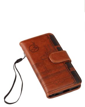 Leather Flip Case For iPhon ..