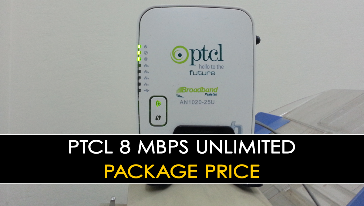 PTCL  Unlimited Package Price