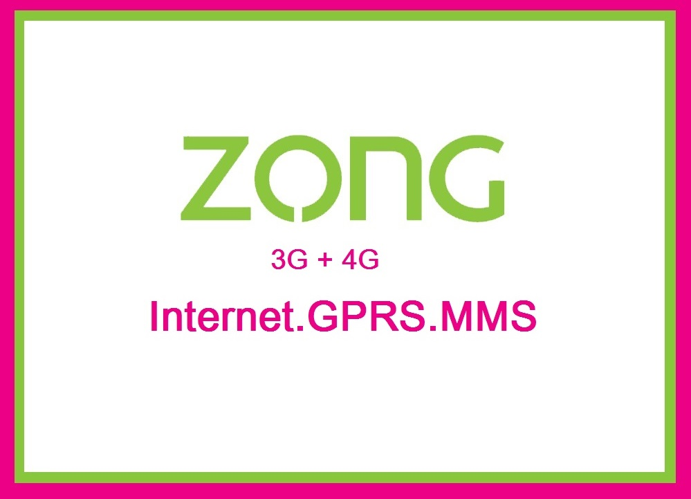 How can I get Zong Internet settings?
