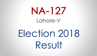 NA-127-Lahore-Punjab-Election-Result-2018-PMLN-PTI-PPP-MQM-Candidate-Votes-Live-Update