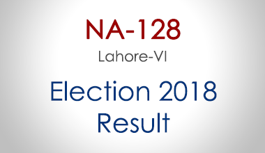 NA-128-Lahore-Punjab-Election-Result-2018-PMLN-PTI-PPP-MQM-Candidate-Votes-Live-Update
