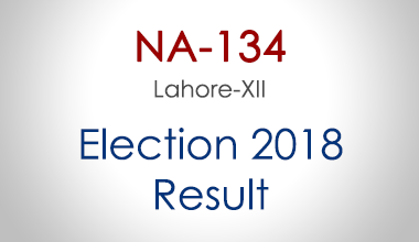 NA-134-Lahore-Punjab-Election-Result-2018-PMLN-PTI-PPP-MQM-Candidate-Votes-Live-Update
