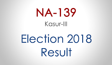 NA-139-Kasur-Punjab-Election-Result-2018-PMLN-PTI-PPP-MQM-Candidate-Votes-Live-Update