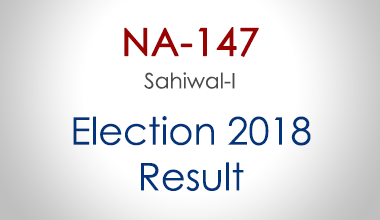 NA-147-Sahiwal-Punjab-Election-Result-2018-PMLN-PTI-PPP-MQM-Candidate-Votes-Live-Update