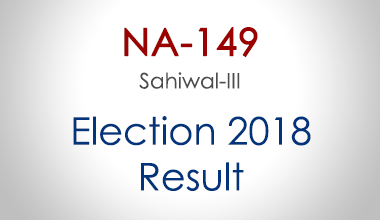 NA-149-Sahiwal-Punjab-Election-Result-2018-PMLN-PTI-PPP-MQM-Candidate-Votes-Live-Update