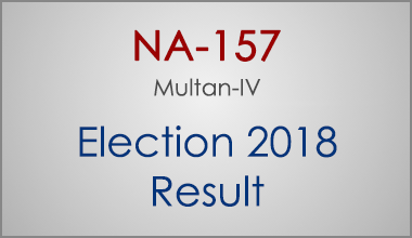 NA-157-Multan-Punjab-Election-Result-2018-PMLN-PTI-PPP-MQM-Candidate-Votes-Live-Update