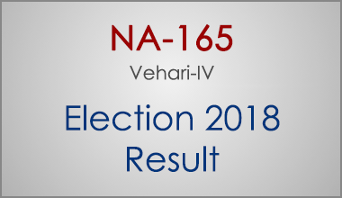 NA-165-Vehari-Punjab-Election-Result-2018-PMLN-PTI-PPP-MQM-Candidate-Votes-Live-Update