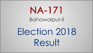 NA-171-Bahawalpur-Punjab-Election-Result-2018-PMLN-PTI-PPP-MQM-Candidate-Votes-Live-Update