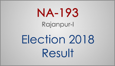 NA-193-Rajanpur-Punjab-Election-Result-2018-PMLN-PTI-PPP-MQM-Candidate-Votes-Live-Update