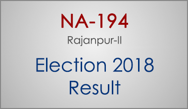 NA-194-Rajanpur-Punjab-Election-Result-2018-PMLN-PTI-PPP-MQM-Candidate-Votes-Live-Update