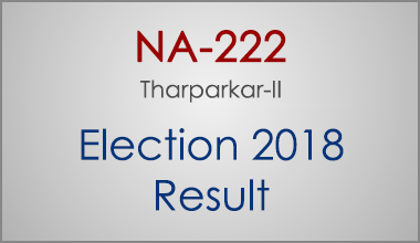 NA-222-Tharparkar-Sindh-Election-Result-2018-PMLN-PTI-PPP-MQM-Candidate-Votes-Live-Update