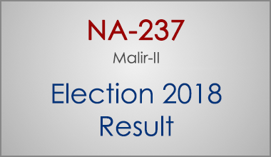 NA-237-Malir-Sindh-Election-Result-2018-PMLN-PTI-PPP-MQM-Candidate-Votes-Live-Update