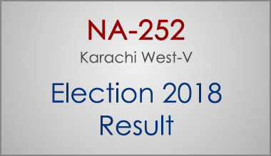 NA-252-Karachi-West-Sindh-Election-Result-2018-PMLN-PTI-PPP-MQM-Candidate-Votes-Live-Update
