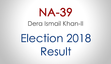 NA-39-Dera-Ismail-Khan-KPK-Election-Result-2018-PMLN-PTI-PPP-MQM-Candidate-Votes-Live-Update