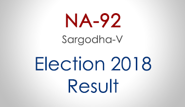 NA-92-Sargodha-Punjab-Election-Result-2018-PMLN-PTI-PPP-MQM-Candidate-Votes-Live-Update