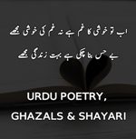 Latest Urdu Poetry, Ghazals & Shayari