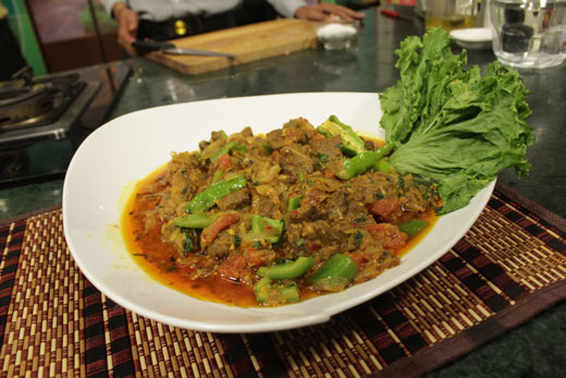 Beef Shimla Mirch Karahi Recipe By Chef Zakir