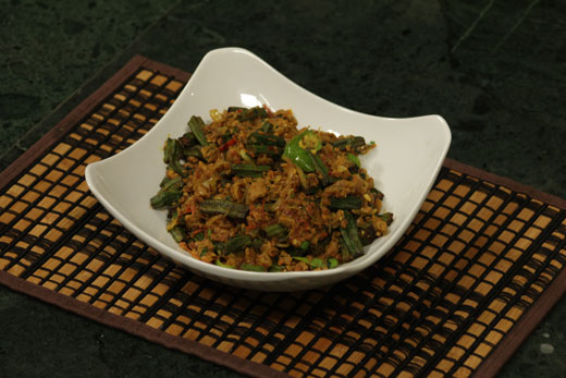 Mutton Okra Recipe by Chef Zakir