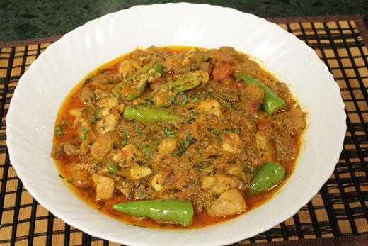 Red And White Karahi Recipe by Chef Zakir