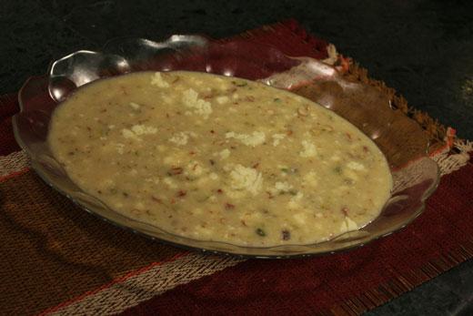 Dodh Ka Halwa Recipe by Chef Zakir