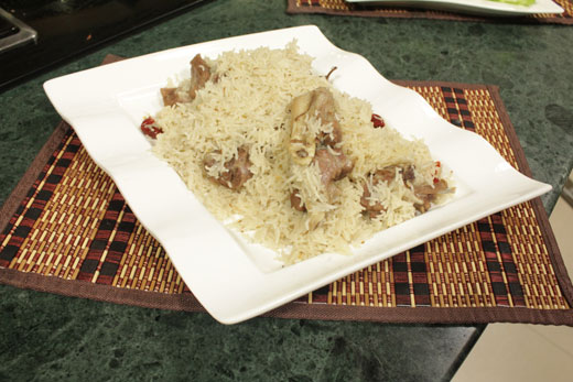 Danda Pulao Recipe by Chef Zakir