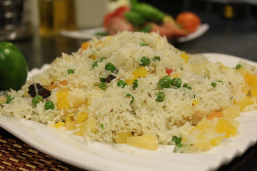 Fruit Pulao Recipe by Chef Zakir