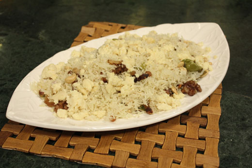 Mewah Pulao Recipe by Chef Zakir
