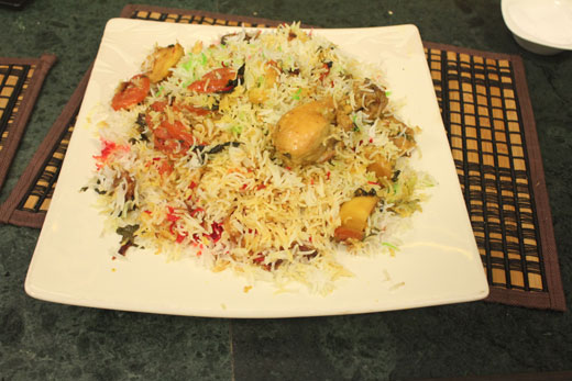 Rung Dar Biryani Recipe by Chef Zakir