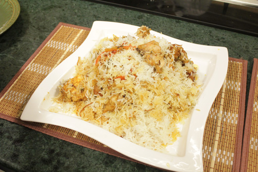 Kachi Chicken Ki Biryani Recipe by Chef Zakir