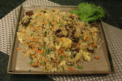 Beef With Fried Rice Recipe by Chef Zakir