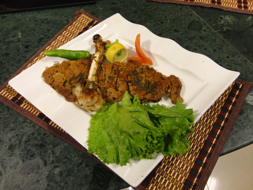 Bbq Mutton Leg Recipe by Chef Zakir