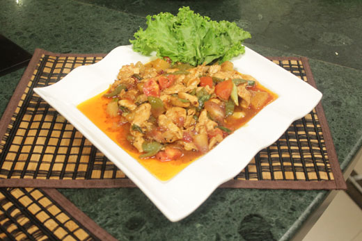 Stir Fried Chicken Recipe by Chef Zakir