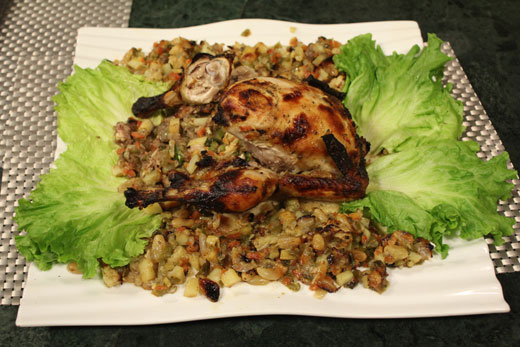 Turkey Style Chicken Roast Recipe By Chef Zakir Recipes In Urdu