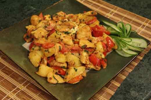 European Spicy Chicken Recipe by Chef Zakir