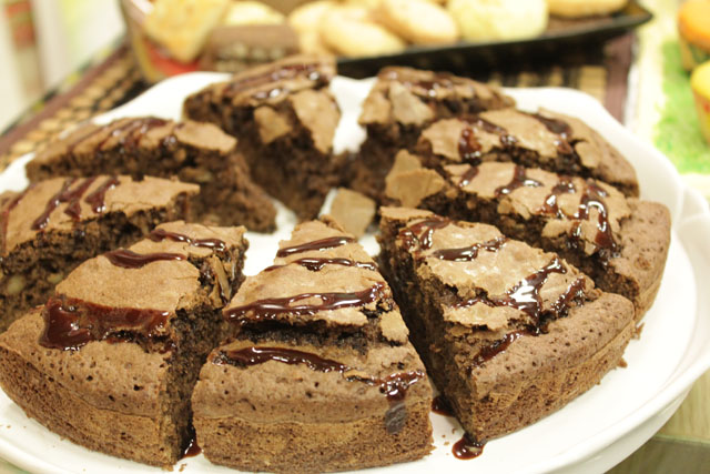 Walnut Brownies Recipe by Chef Zakir